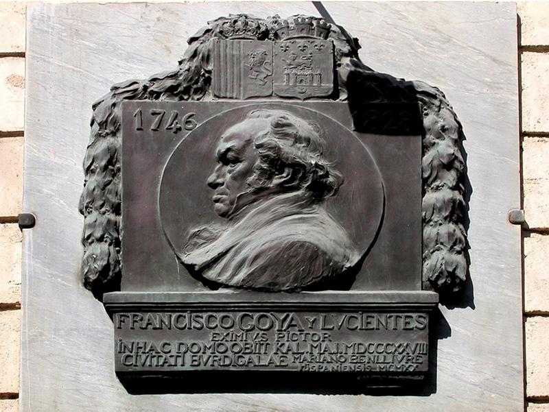 STREET VIEW : la dernière demeure de Francisco GOYA - Bordeaux - Gironde - France 14726610