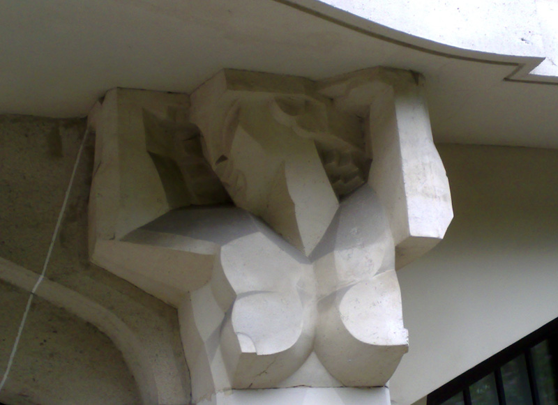ARCHITECTURE : cariatides et atlantes 40036010