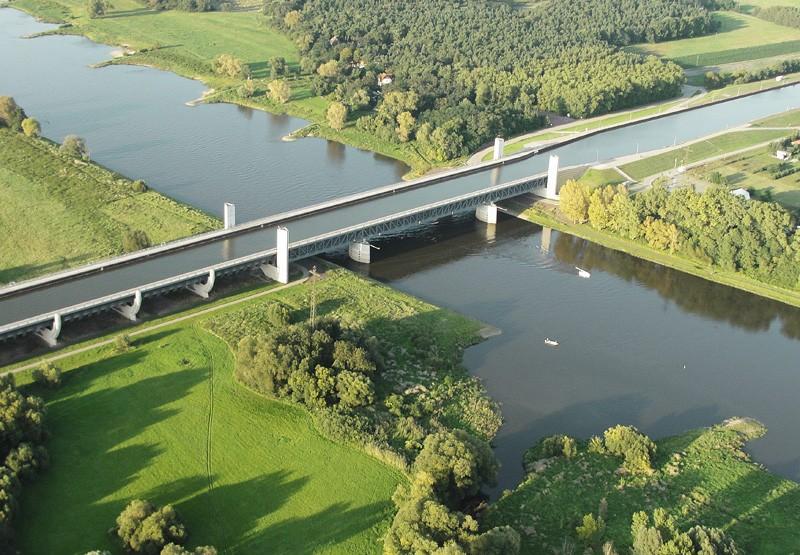 Le pont-canal de Magdebourg - Allemagne. 61598210