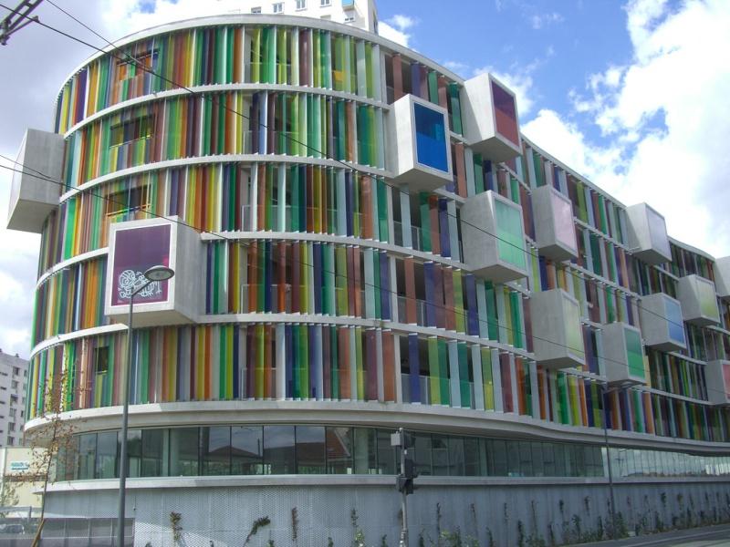 """L'immeuble """"Arc en ciel"""" - Bordeaux - France 79992510"""