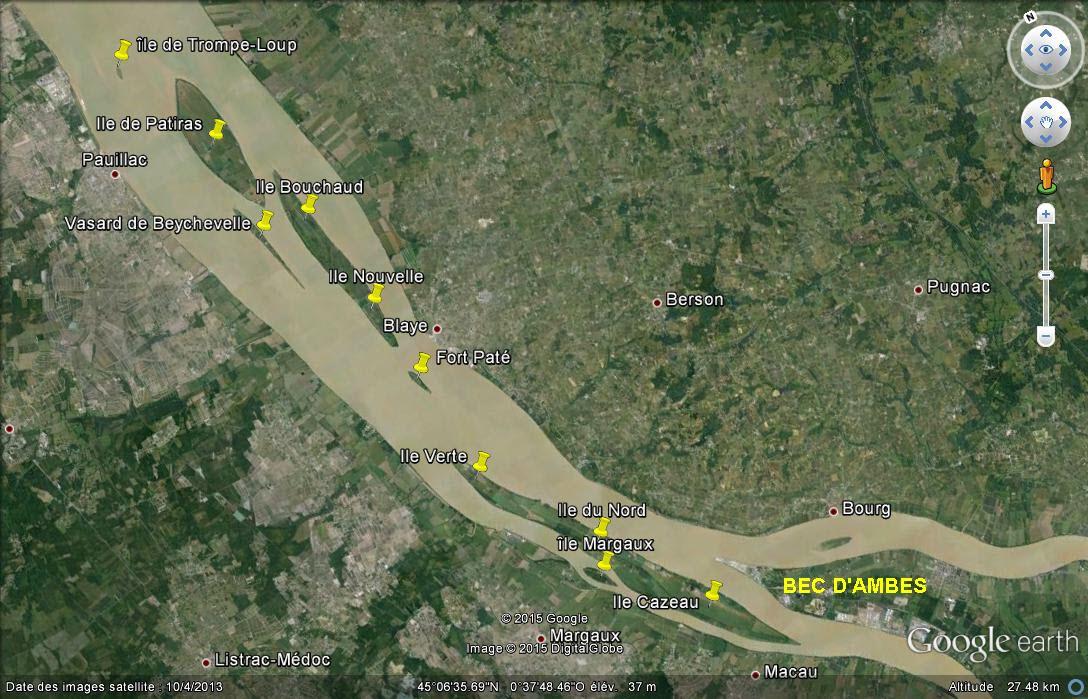 Les îles de l'estuaire de la Gironde - Gironde  - France Ccc14