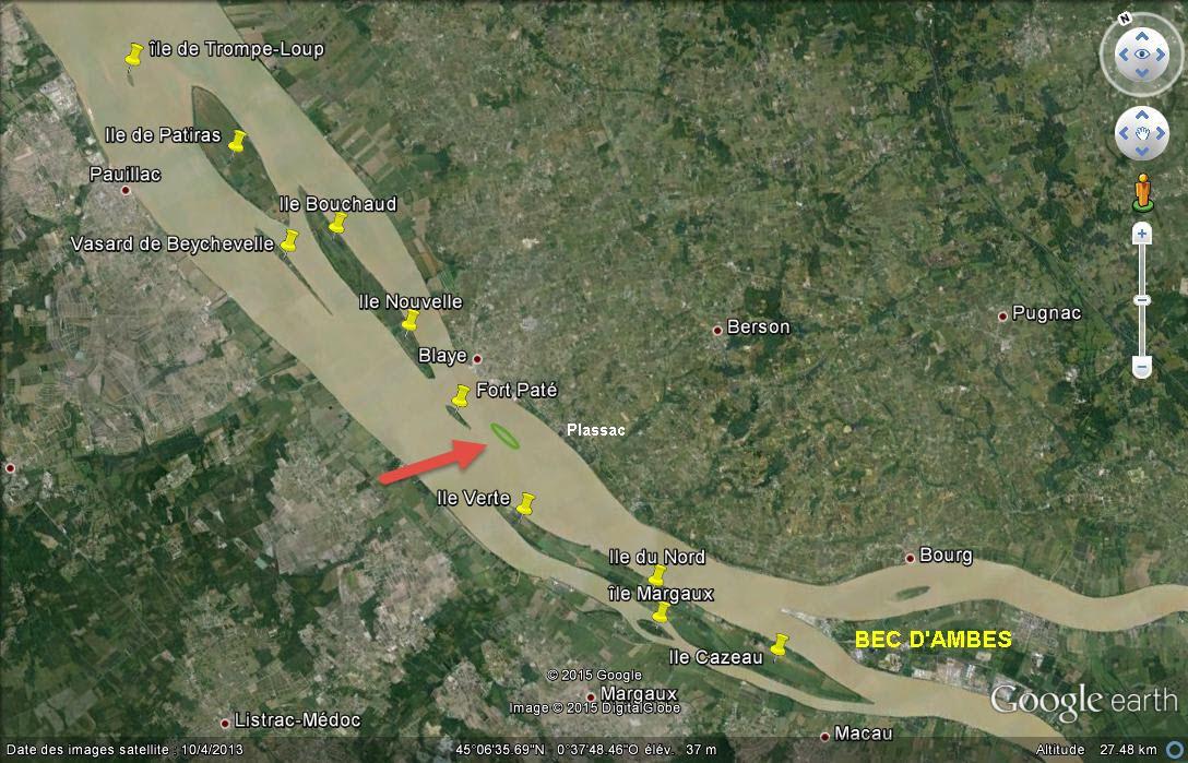 Les îles de l'estuaire de la Gironde - Gironde  - France Ccc1412