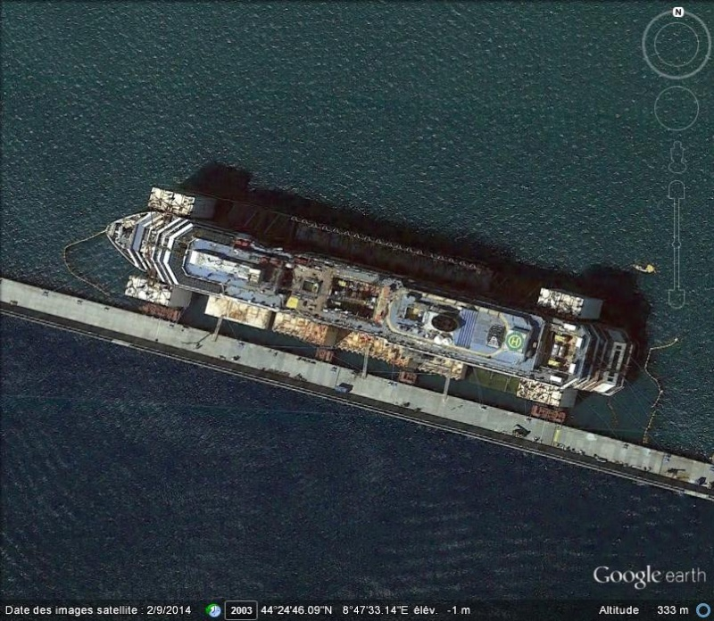 L'épave du Costa-Concordia. Un paquebot géant s'échoue en Italie - Page 5 Costa10