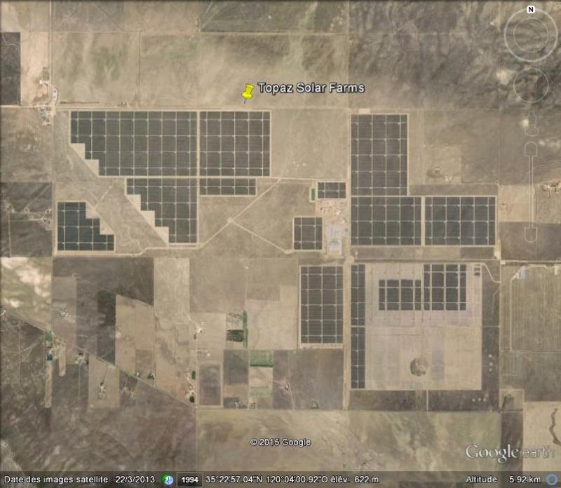 La plus grande centrale solaire du monde: Topaz Solar Farms - Californie - USA Ge_top10