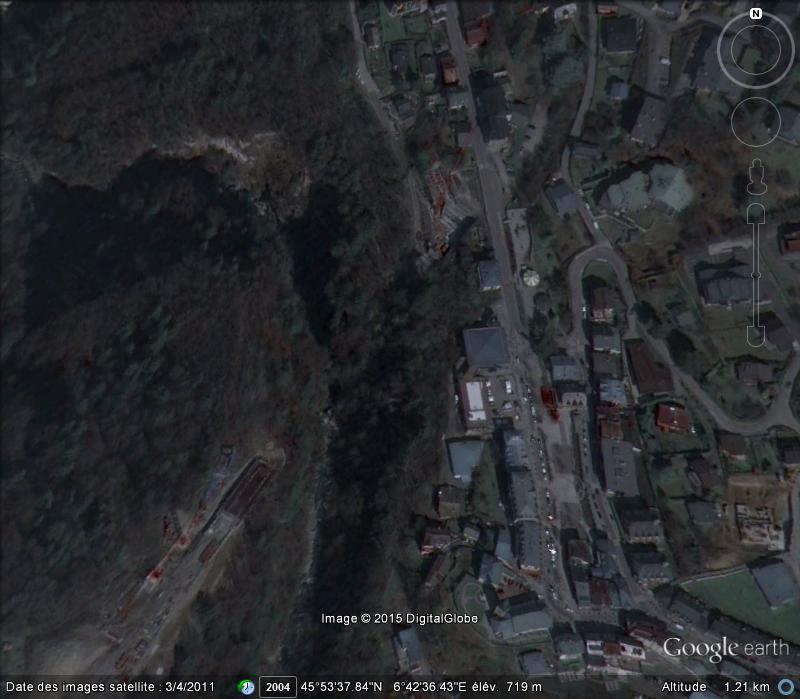 [ENFIN visible sur Google Earth] Le viaduc du Bonnant, Saint Gervais les Bains, Haute-Savoie Www22