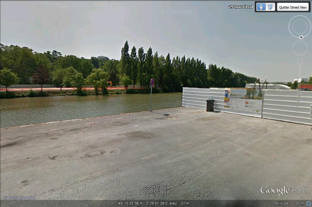[Enfin visible sur Google Earth] - Future Passerelle de Creil, Oise Www25