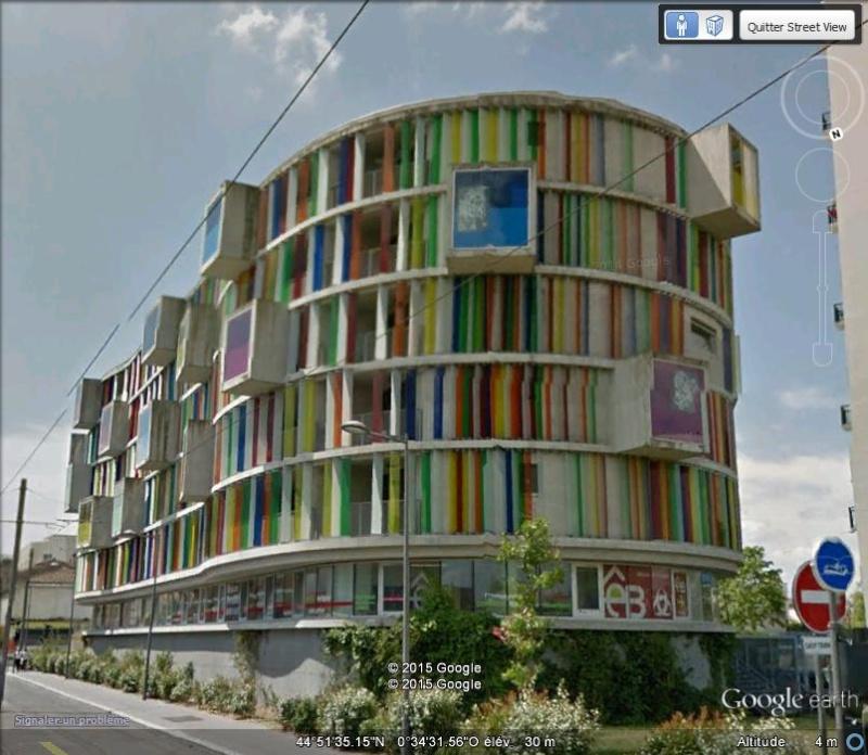 """L'immeuble """"Arc en ciel"""" - Bordeaux - France Xxx24"""