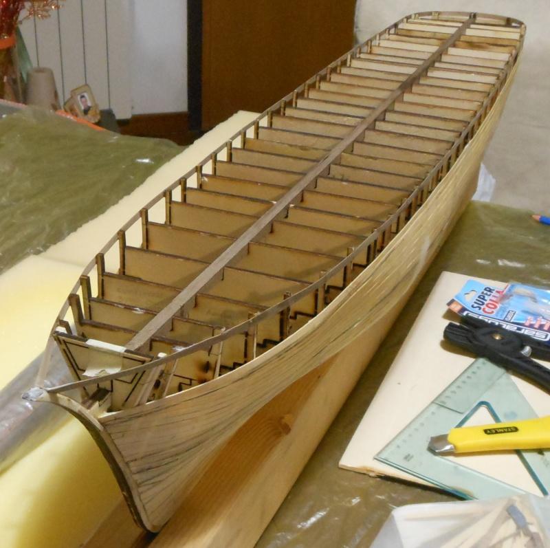 costruzione di goletta, liberamente ispirata a piroscafo cannoniera del XIX secolo - Pagina 2 Dscn2310