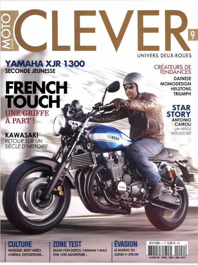 100 ans de Kawasaki et la XJR 1300.... Clever10