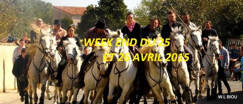MAJ FESTIVITE TAURINE WEEK END 25/26 AVRIL 2015 /9 MANIFESTATION POUR LE MOMENTS    10985910