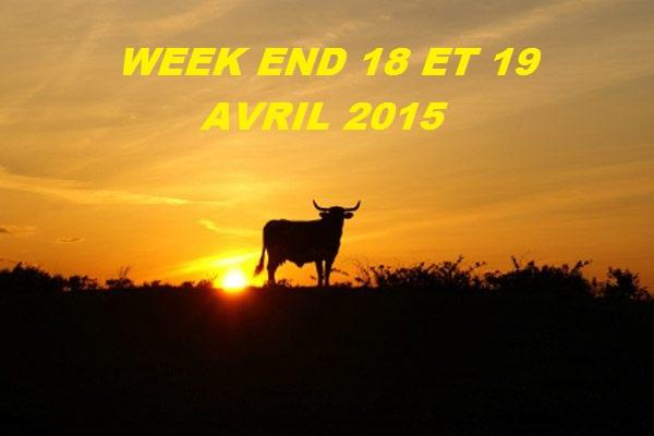 MAJ FESTIVITE TAURINE WEEK END 18,19 AVRIL 2015 /5 MANIFESTATION POUR LE MOMENTS  Taurea10