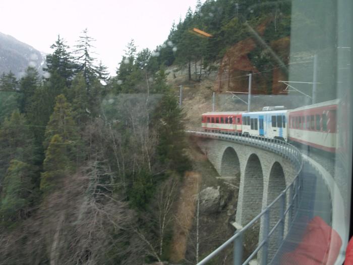 Glacier-Express Abstie12