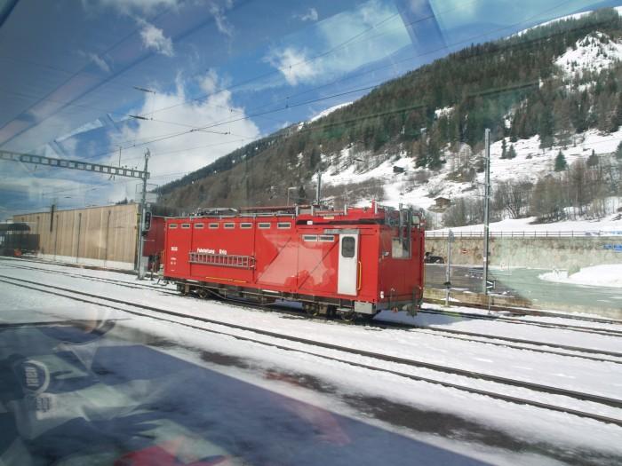 Glacier-Express Arbeit11