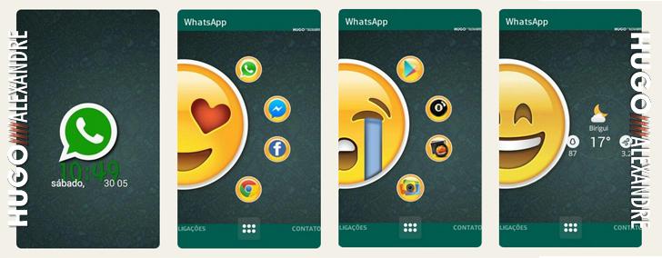 Temas para Android (HomePack Buzz) Whats10