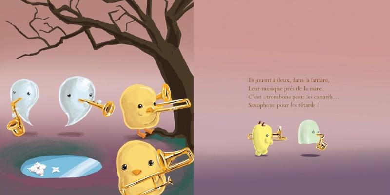 Mon dernier album : Guillaume le Fantôme Fanfar10