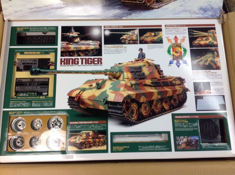 Tamiya King Tiger Full Option For Sale Tiger_12