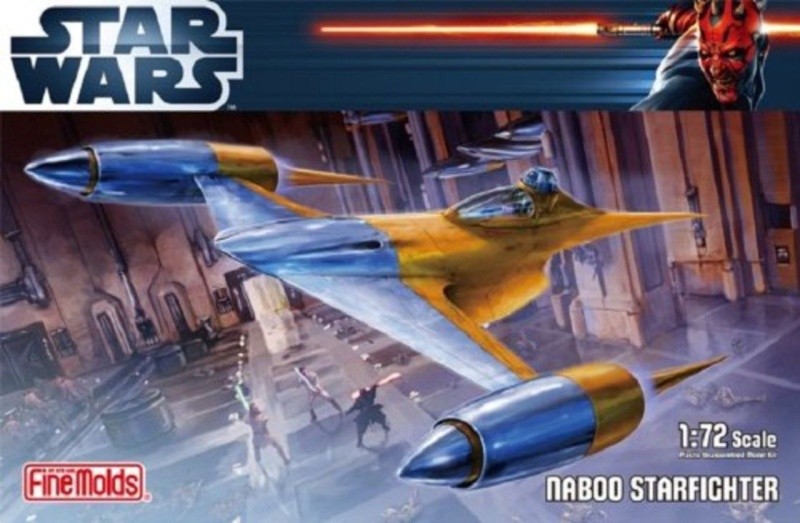 Naboo Fighter / FineMolds 1/72 0112