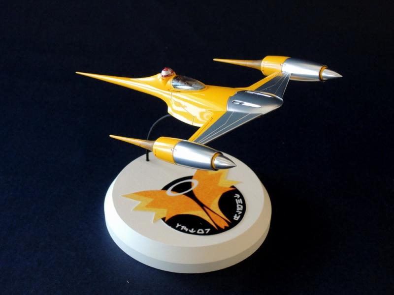 Naboo Fighter / FineMolds 1/72 Dscn0311