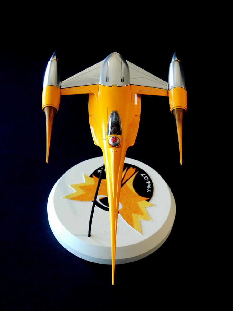 Naboo Fighter / FineMolds 1/72 Dscn0314