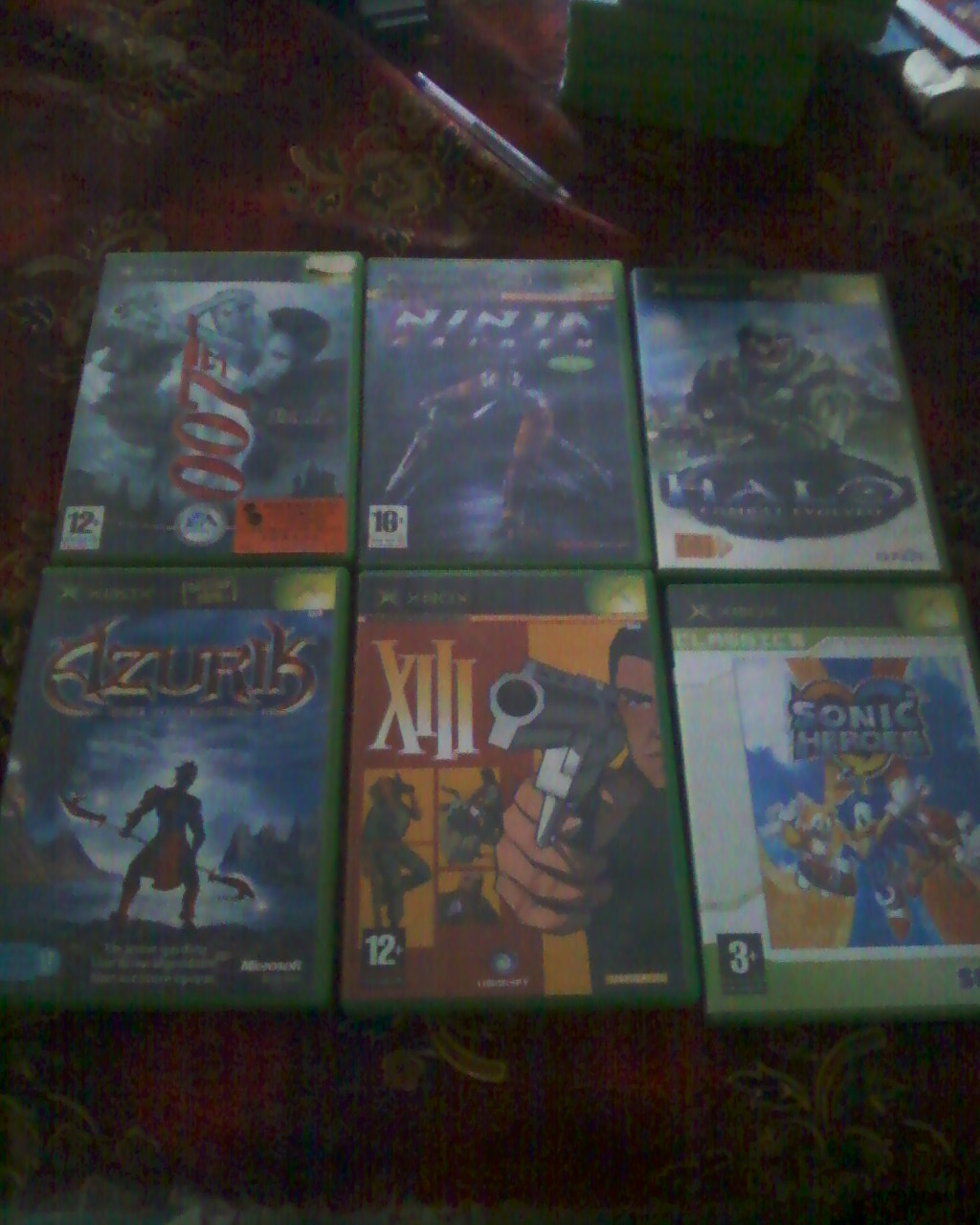 Boutique Darktet  (Du X-BOX ,Nes,SNes,N64)  lot Xbox + de 40 jx  100 e ! Photos20