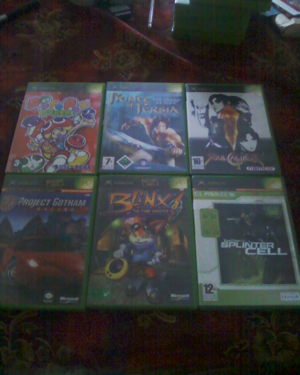 Boutique Darktet  (Du X-BOX ,Nes,SNes,N64)  lot Xbox + de 40 jx  100 e ! Photos22