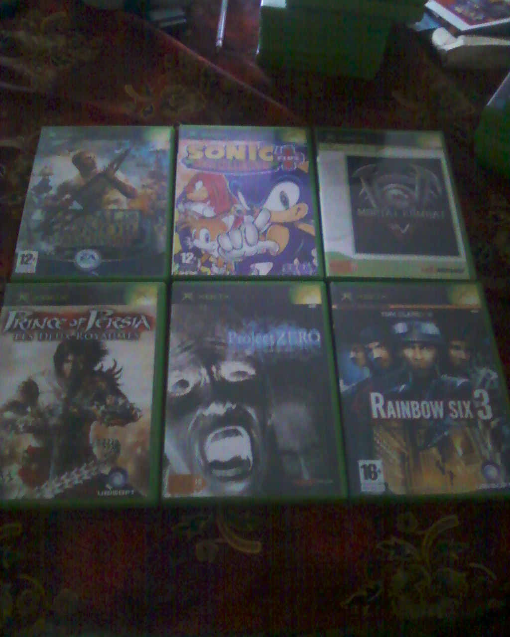Boutique Darktet  (Du X-BOX ,Nes,SNes,N64)  lot Xbox + de 40 jx  100 e ! Photos24