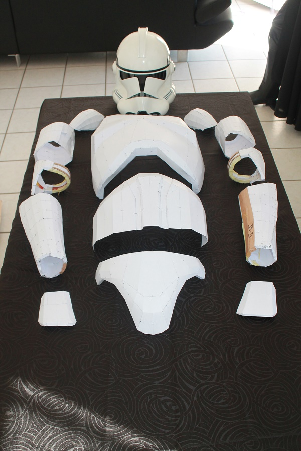 ARMURE CLONE PAPERCRAFT 1:1 Img_6110