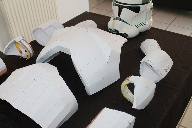 ARMURE CLONE PAPERCRAFT 1:1 Img_6112