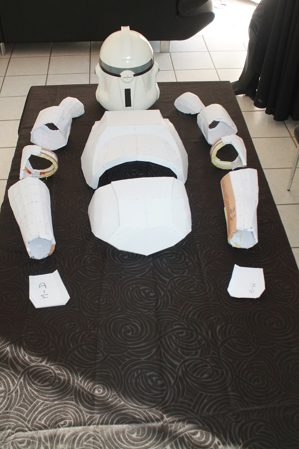 ARMURE CLONE PAPERCRAFT 1:1 Img_6113