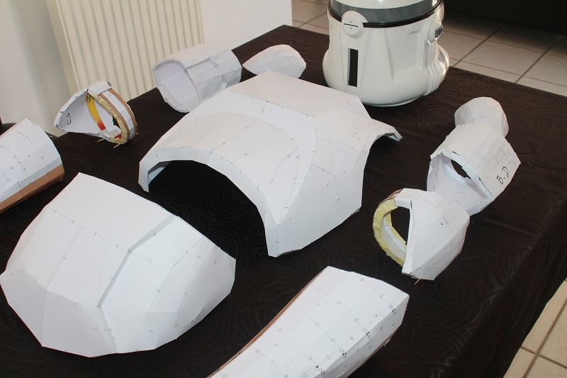 ARMURE CLONE PAPERCRAFT 1:1 Img_6210