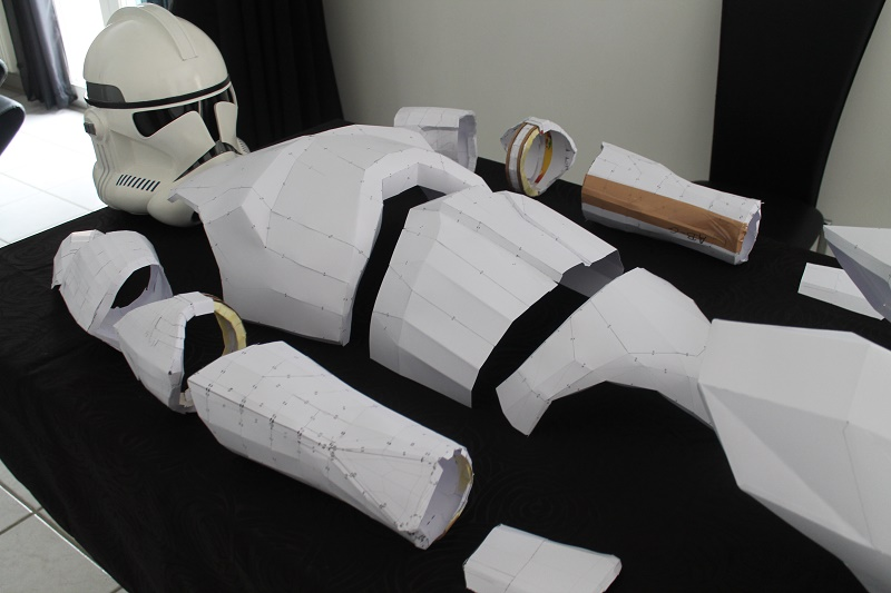 ARMURE CLONE PAPERCRAFT 1:1 Img_6213