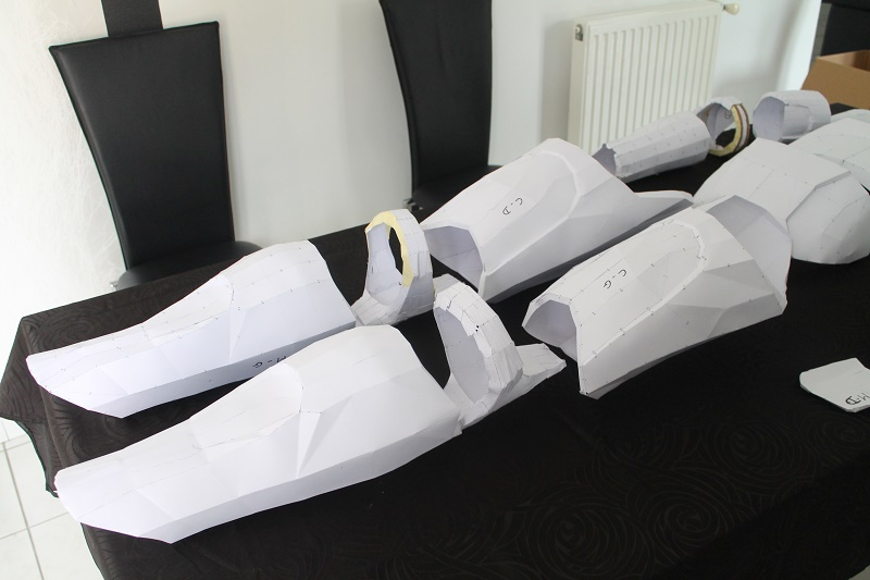 ARMURE CLONE PAPERCRAFT 1:1 Img_6215