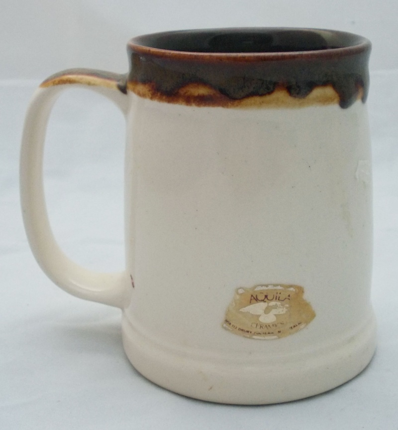 Who made this beige tankard with fish picture?  Dscn6921