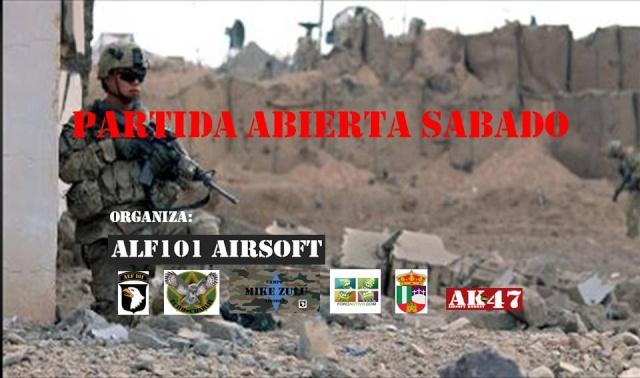 Partida Abierta Mike Zulu sabado 25/04/15 Partid17