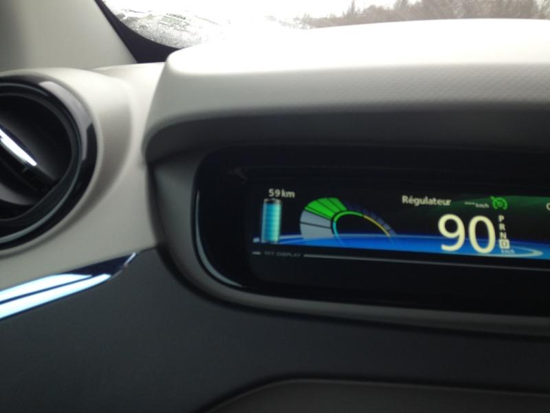 Chargée à 100% - Autonomie affichée 92 km ! 20150411
