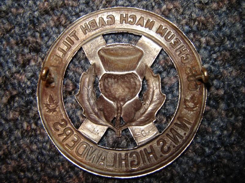 Badge NNS highlanders Afbeel10
