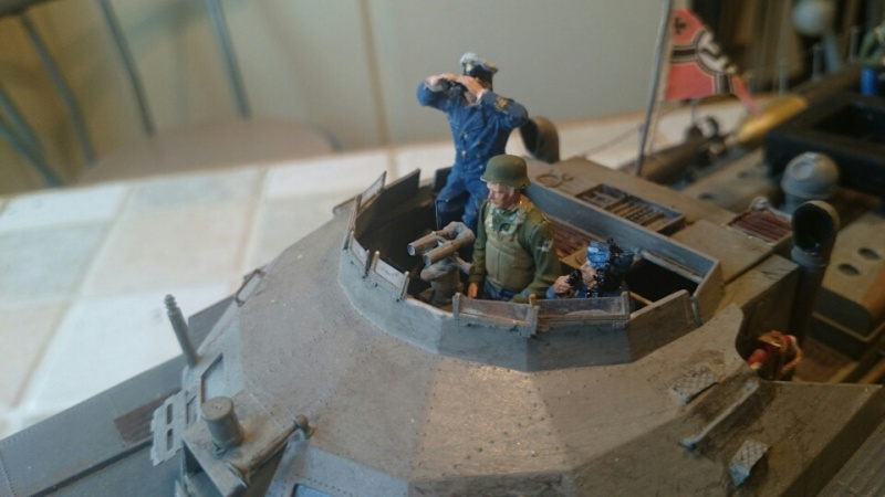 schnellboot s-100 ITALERI 1/35 transformable RC - Page 5 Mms_2014