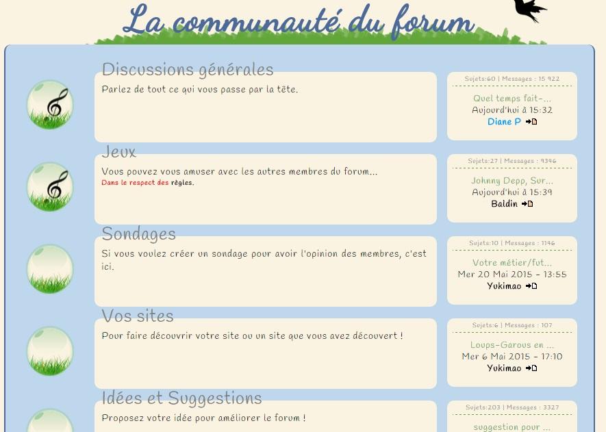 Le mode d'emploi du forum Discus10
