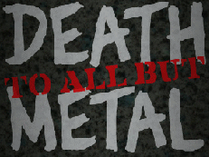 Death to all but Metal - November 20, 2015. Dtbm10