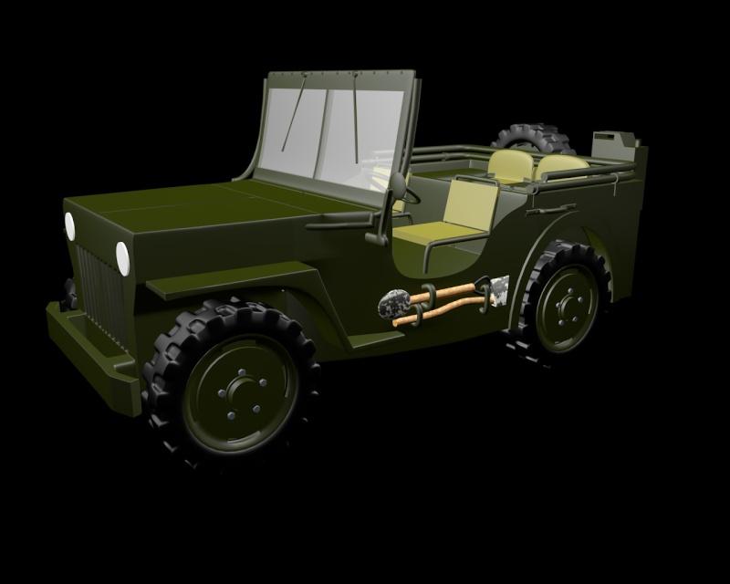 modélisation personnelle Jeep_w12