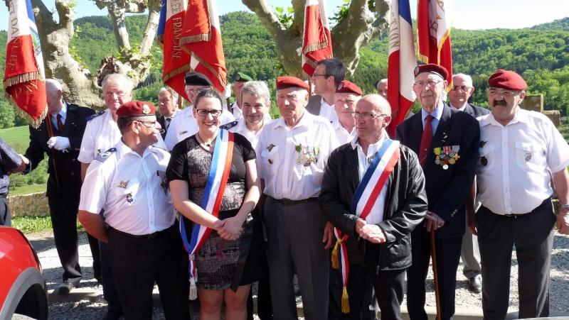 L'U.N.P. Ariège à rendu hommage au major Roger Cathala P1070217