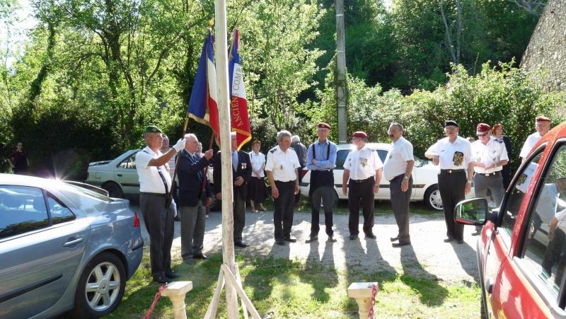 L'U.N.P. Ariège à rendu hommage au major Roger Cathala P1070220