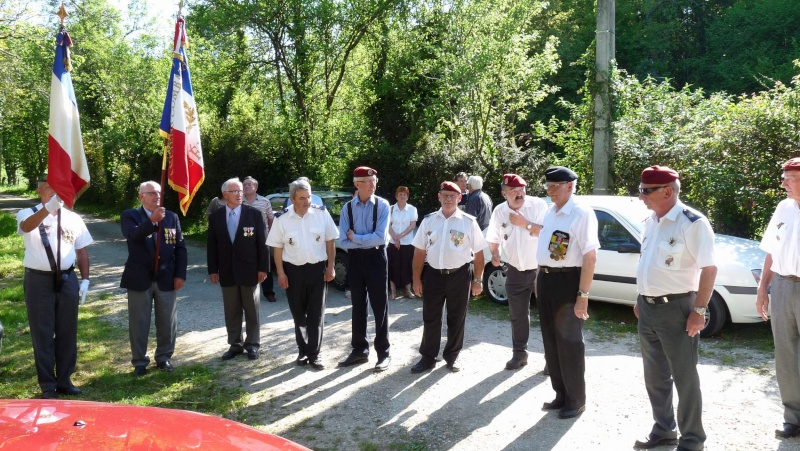 L'U.N.P. Ariège à rendu hommage au major Roger Cathala P1070222
