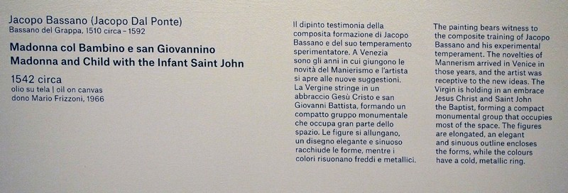 Riapre a Bergamo l'Accademia Carrara P4249413