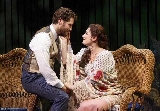 LAURA MITCHELLE GARY BARLOW : The musical Finding Neverland, 279c3310