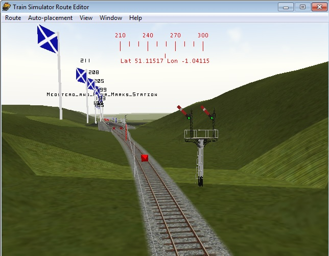 Midhants Railway / Watercressline Route Medste12