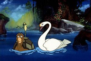 Le Cygne et la Princesse [1994] [F. Anim]  Prince10