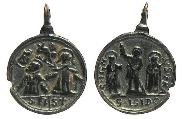 Recopilación medallas Orden Carmelitas Descalzas: Santa Teresa de Jesús 0aveli10