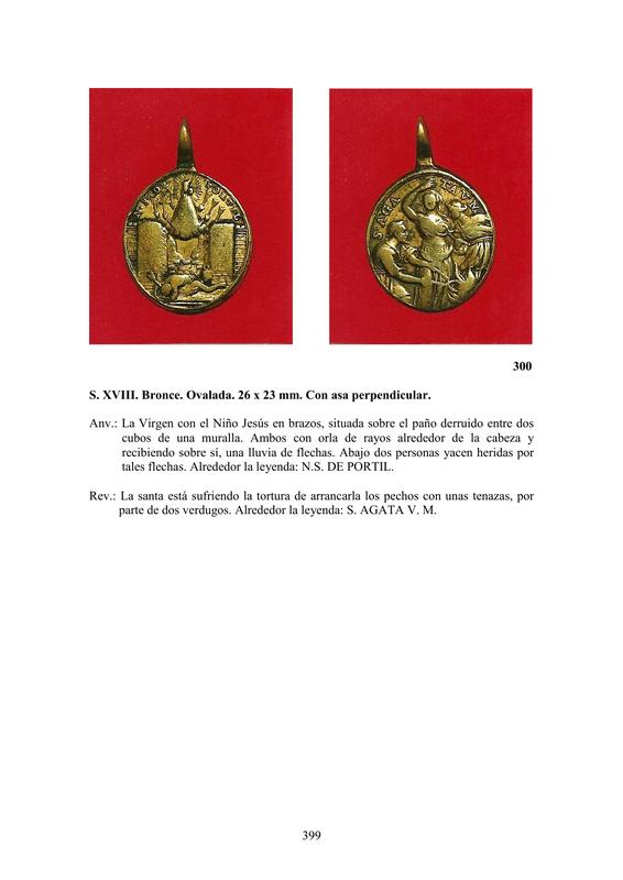 LA MEDALLA DE DEVOCIÓN EN EUROPA ENTRE LOS SIGLOS XVI Y XIX  por  Fernando Sainz Varona - Página 17 39910