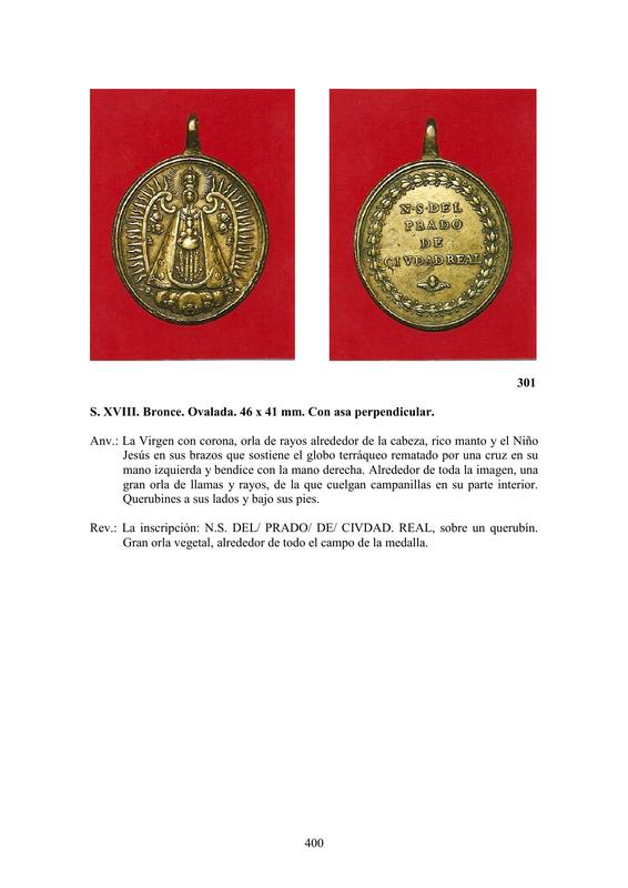 LA MEDALLA DE DEVOCIÓN EN EUROPA ENTRE LOS SIGLOS XVI Y XIX  por  Fernando Sainz Varona - Página 17 40010